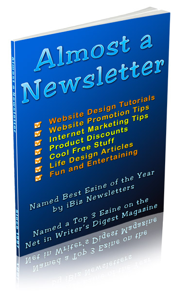 Almost a Newsletter Web Design Tips