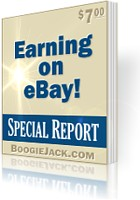Make easy money through eBay auctions.
