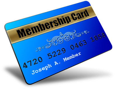 Member Card Custom Graphics Style 2: Design 1