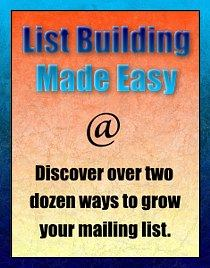 Explode your mailing list subscriber base.