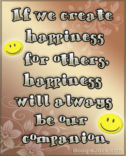 make happiness your companion picture quote
