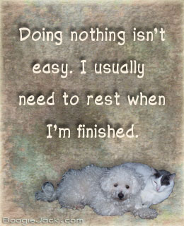 doing nothing isn't easy picture quote
