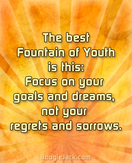fountain of youth picture quote
