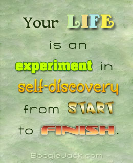 life is an experiment picture quote