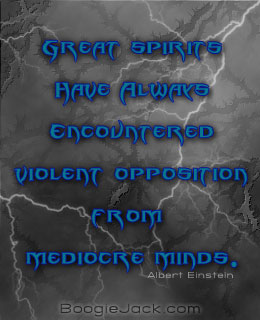 mediocre minds picture quote
