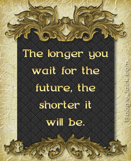 longer you wait picture quote