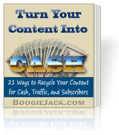21 Ways to Recycle Content