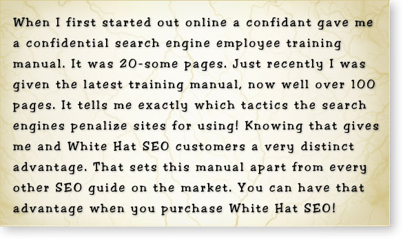 white hat seo advantage